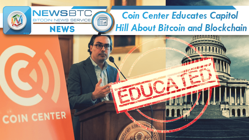 Coin Center utbildar Capitol Hill om Bitcoin och Blockchain