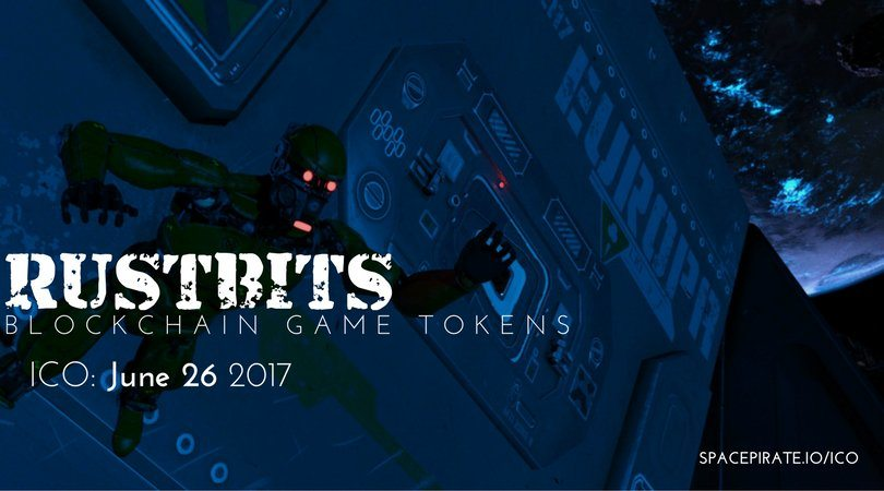 SpacePirate's Rustbits token prodaje je sada uživo